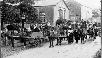 Nether Kellet Sunday School Trip 1904