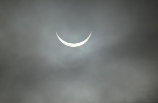 Solar Eclipse over Nether Kellet