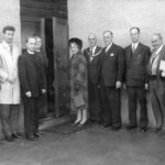 Opening the Village Hall, 1964