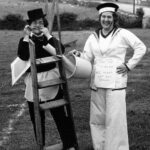 Field Day - no date. Moira Cooke and Jean Bergus