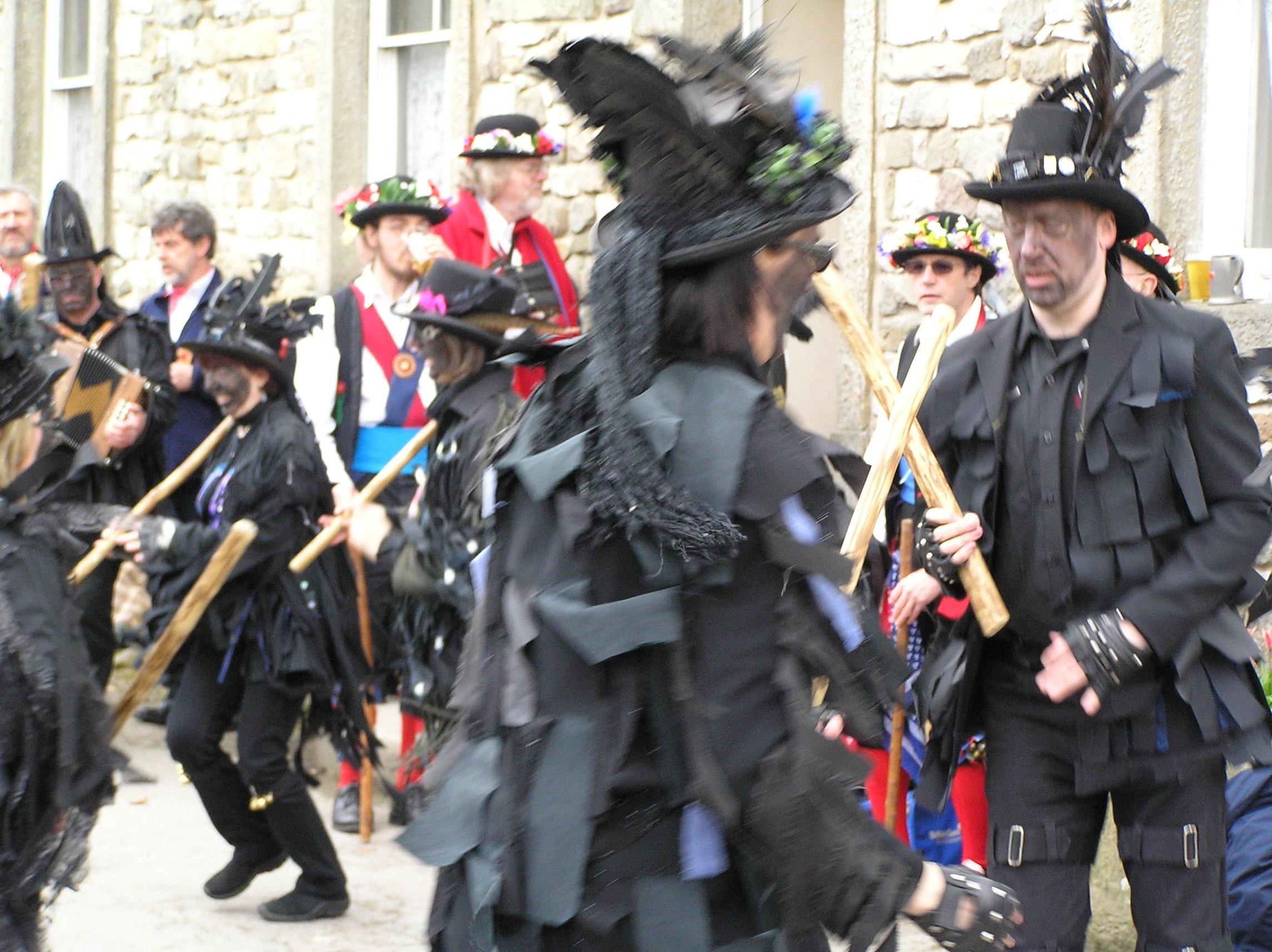 Morris Dancers: Easter